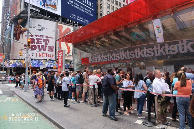 taquillas tkts times square
